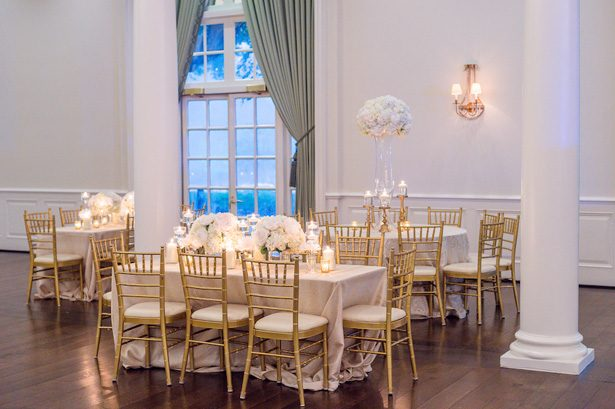 Ball room wedding reception decor- Heather Durham Photography