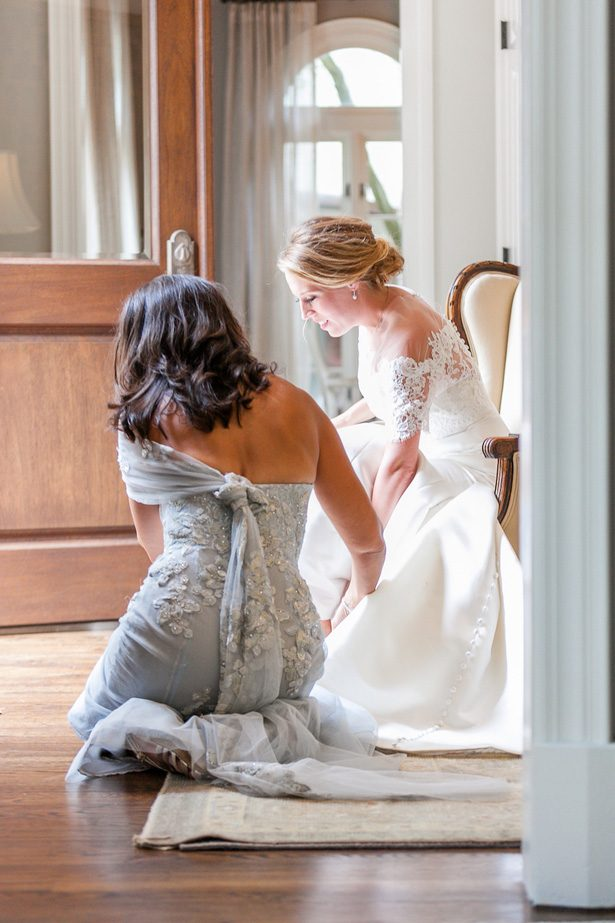 Bride getting ready photo - Heather Durham Photography