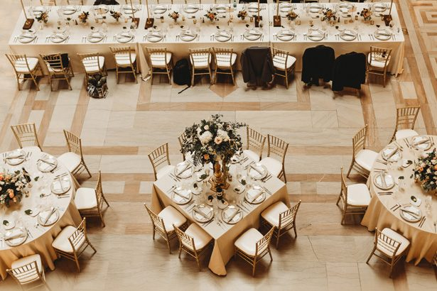 Ballroom wedding reception decor - Mann and Wife Photography