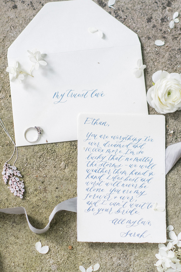 Garden Wedding Invitation - Krystal Healy Photography