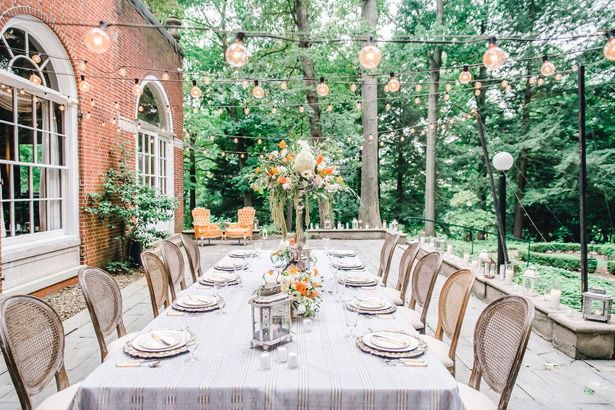 Garden Wedding Tablescape - Krystal Healy Photography