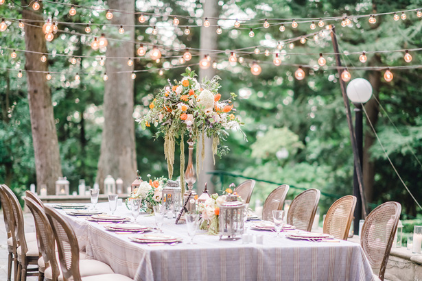 Gorgeouse Garden Wedding Decor - Krystal Healy Photography