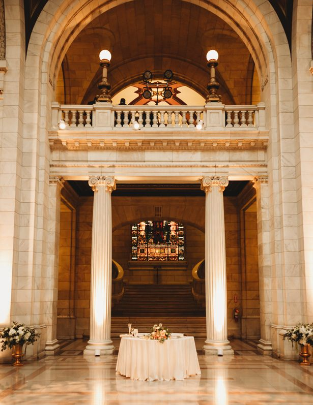 Historic building wedding venue - Mann and Wife Photography