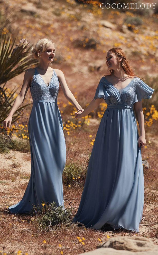 Lace Bridesmaid Dress Trends by Cocomelody 2020