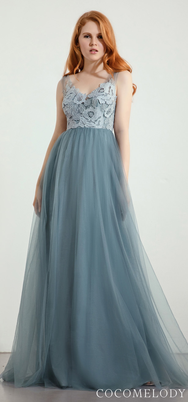 Lace Bridesmaid Dress Trends by Cocomelody 2020 - Lace Bridesmaid Dress Trends by Cocomelody 2020 - BELLA