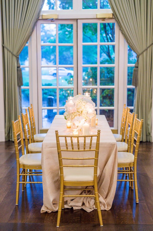 Long wedding table- Heather Durham Photography