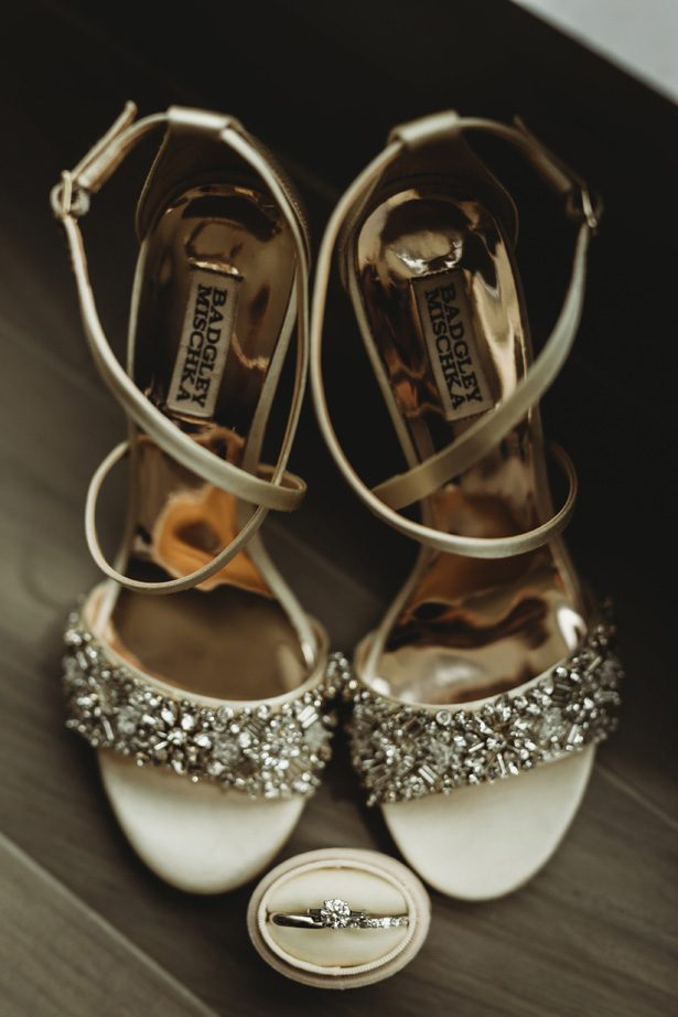 Luxury wedding shoes - Mann and Wife Photography
