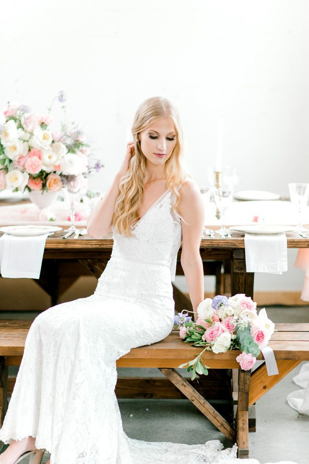 Feminine Pastel Wedding Inspiration