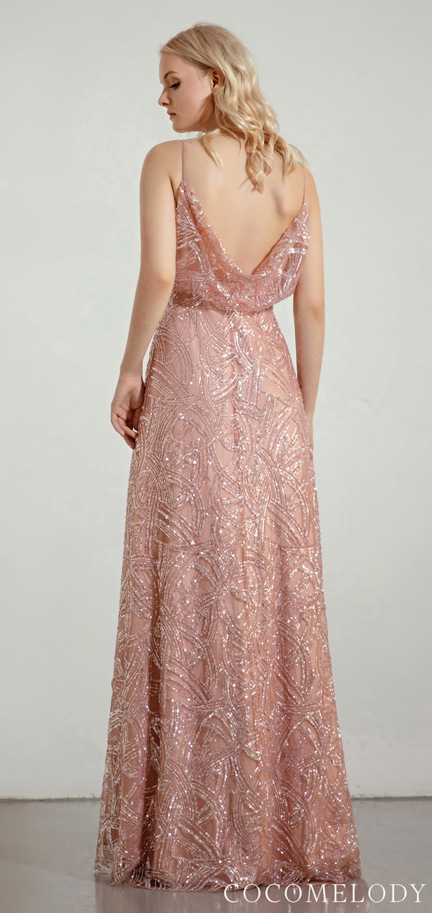 Sequins Bridesmaid Dress Trends by Cocomelody 2020 - MEGAN