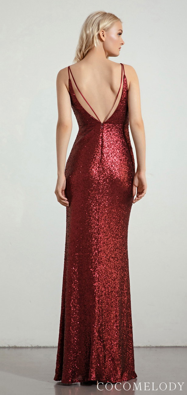 Sequins Bridesmaid Dress Trends by Cocomelody 2020 - MOLLY