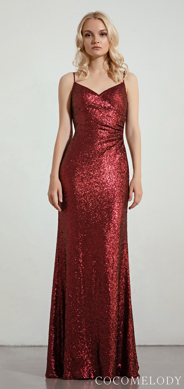 Sequins Bridesmaid Dress Trends by Cocomelody 2020 - MOLL