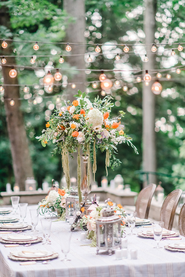 Sophisticated Wedding Tablescape - Krystal Healy Photography