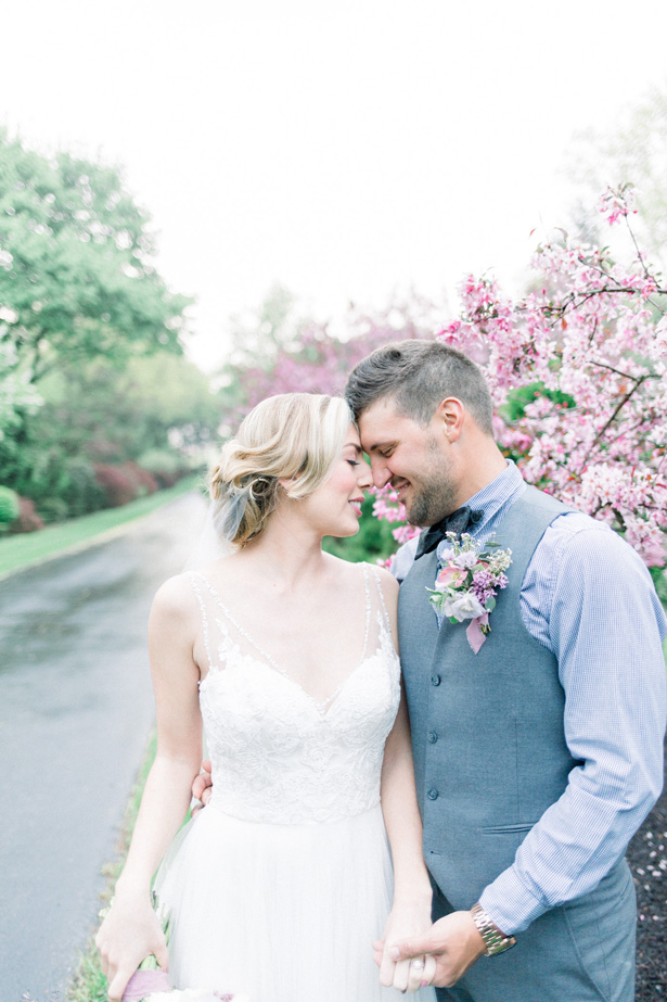 Spring Romantic wedding photo - Mallory McClure Photography