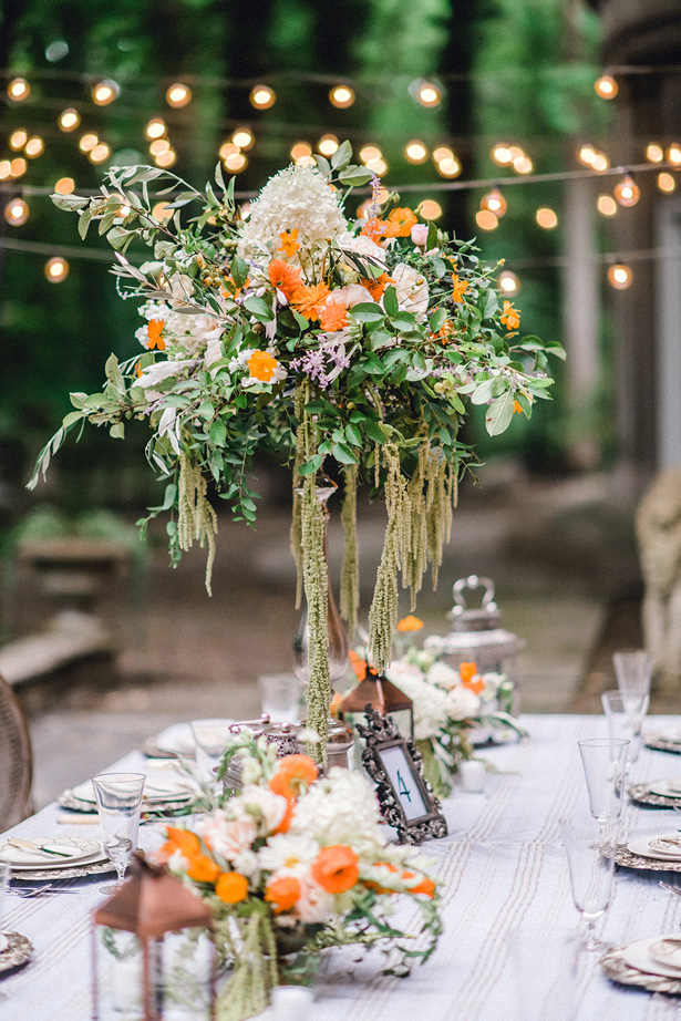 Summer Garden Wedding Decor - Krystal Healy Photography