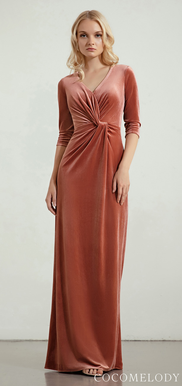 Velvet Bridesmaid Dress Trends by Cocomelody 2020 - IRIS
