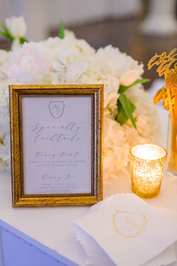Wedding sign- Heather Durham Photography