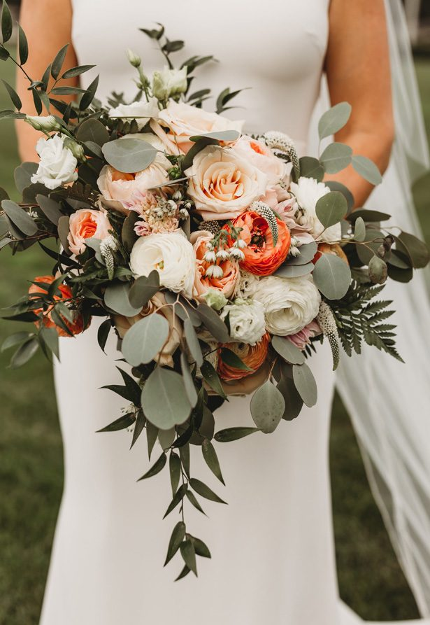 Wild Wedding Bouquet - Mann and Wife Photography