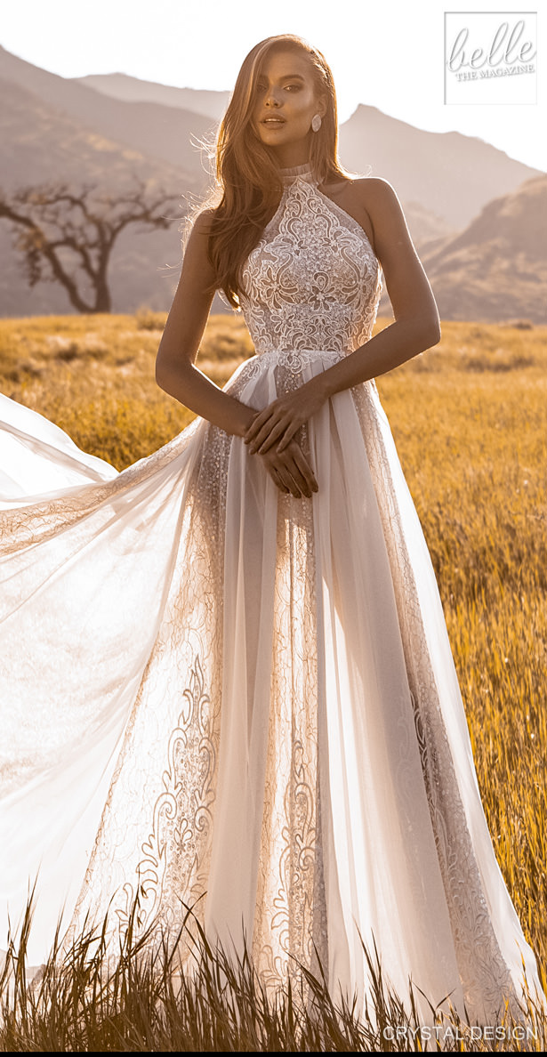 Crystal Design Couture Wedding Dresses 2020 - Catching The Wind Collection - Ibiza