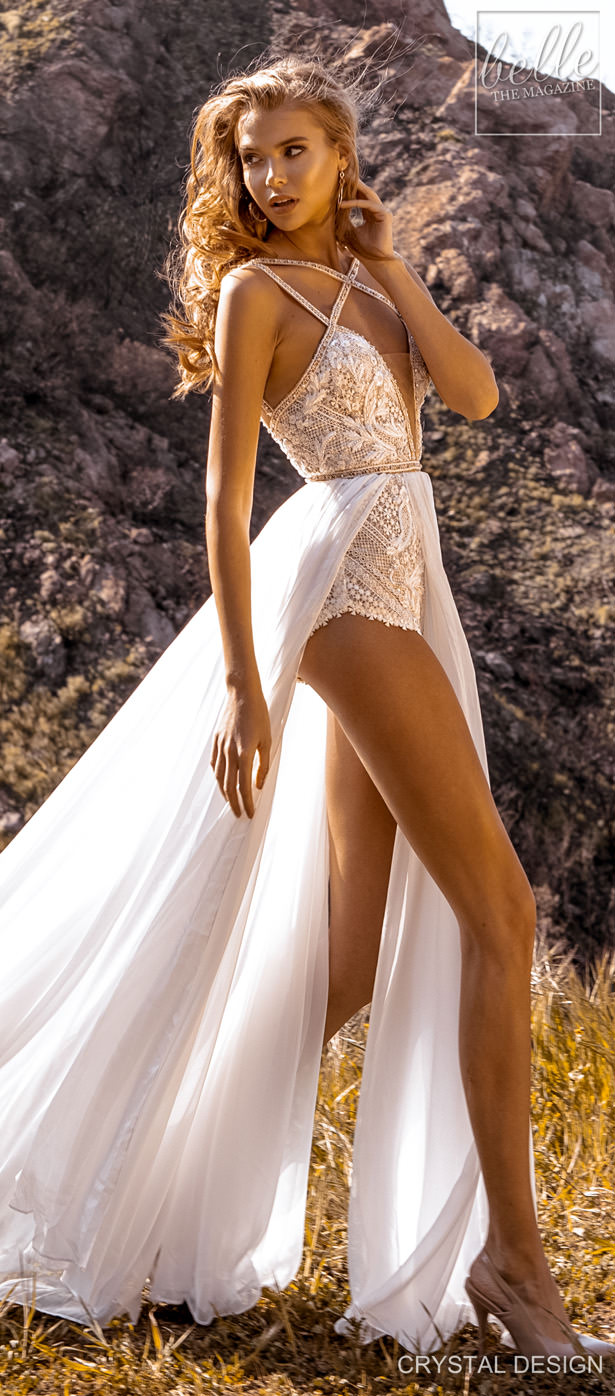 Crystal Design Couture Wedding Dresses 2020 - Catching The Wind Collection - Maldives