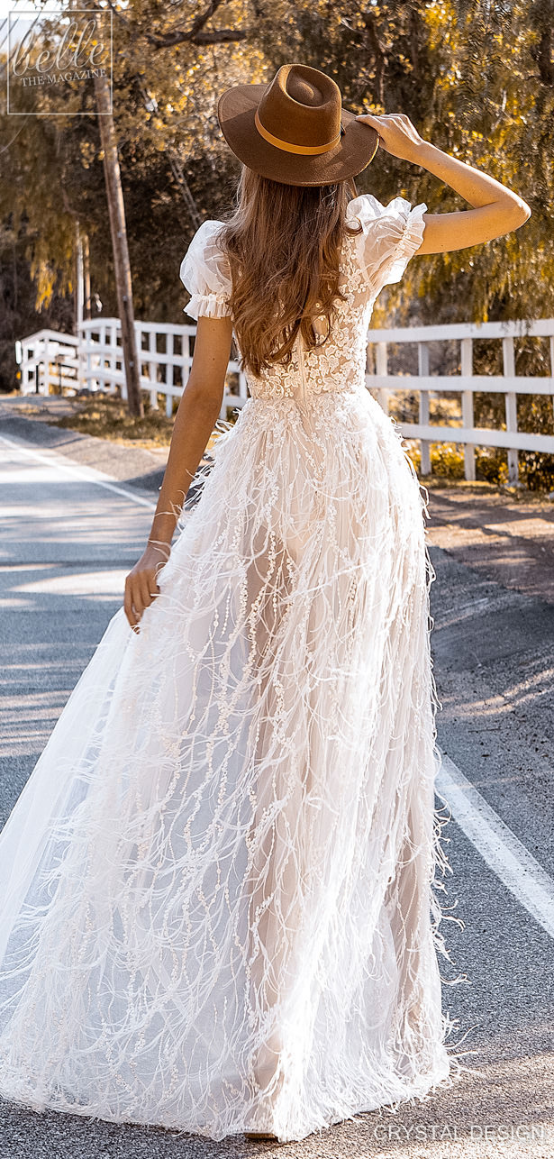 Crystal Design Couture Wedding Dresses 2020 - Catching The Wind Collection -Naomi