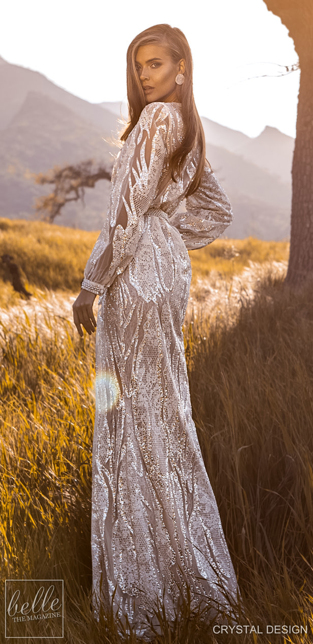 Crystal Design Couture Wedding Dresses 2020 - Catching The Wind Collection - Sardinia