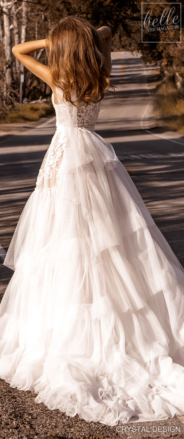 Crystal Design Couture Wedding Dresses 2020 - Catching The Wind Collection -Sicily