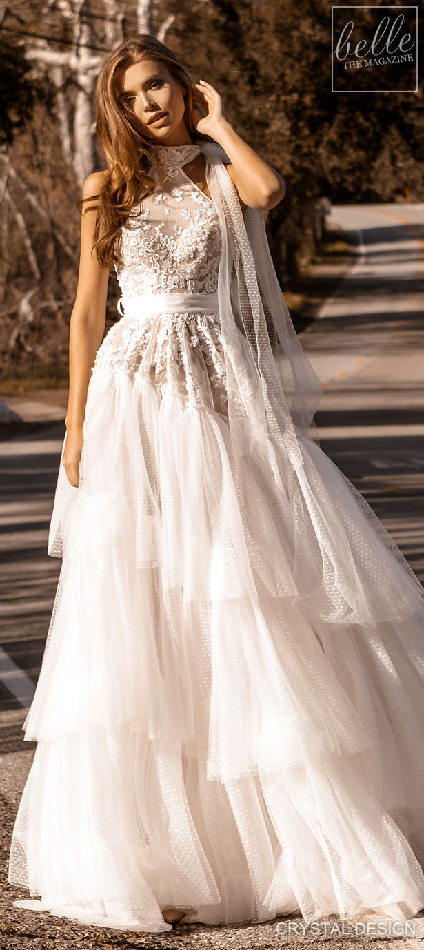 Crystal Design Couture Wedding Dresses 2020 - Catching The Wind Bridal Collection