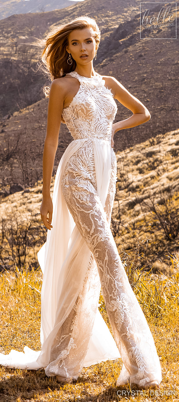 Crystal Design Couture Wedding Dresses 2020 - Catching The Wind Collection - Tenerife