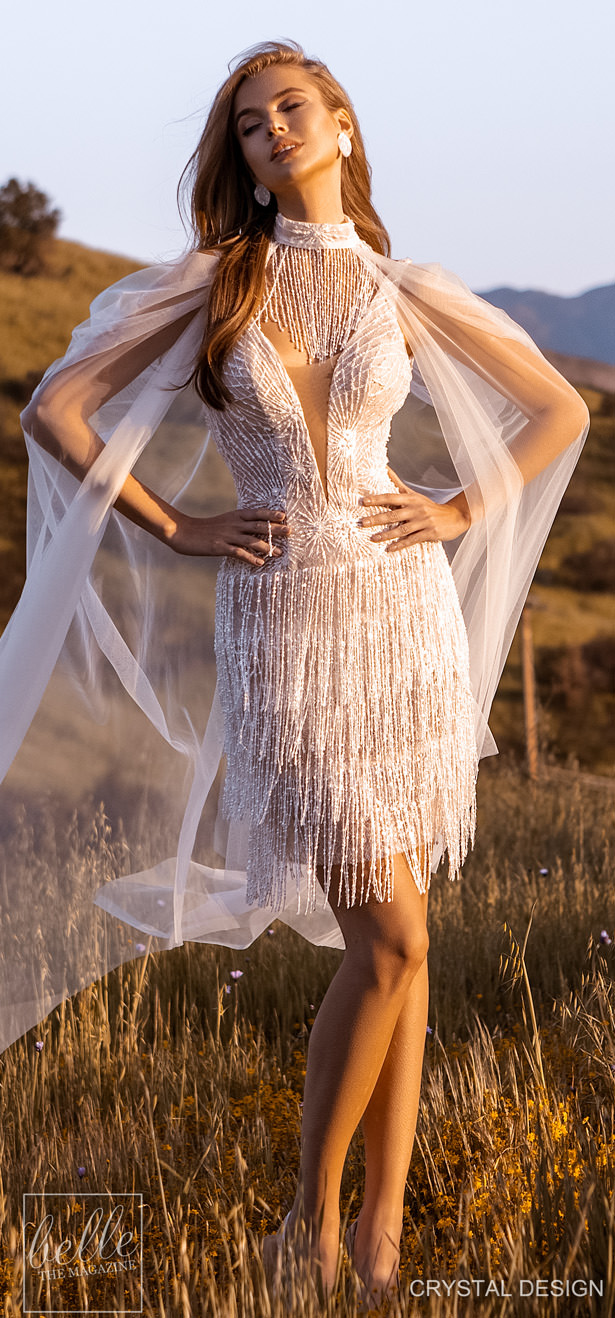 Crystal Design Couture Wedding Dresses 2020 - Catching The Wind Collection - Trinidad
