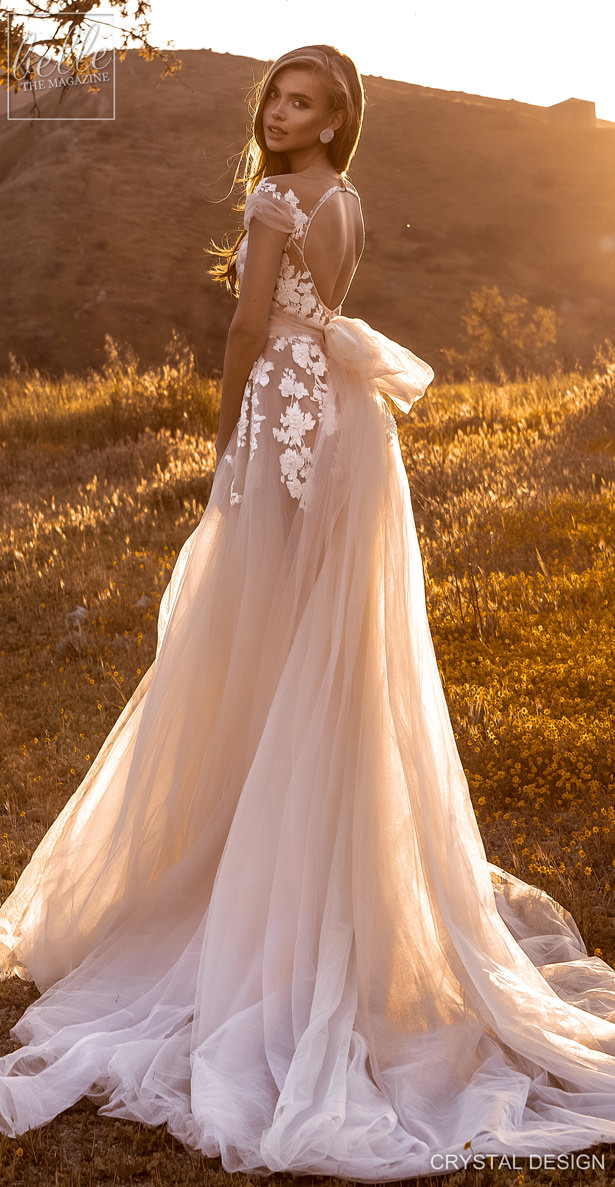 Crystal Design Couture Wedding Dresses 2020 - Catching The Wind Collection - Zanizibar