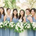 boho bridal party bouquets - Theresa Bridget Photography