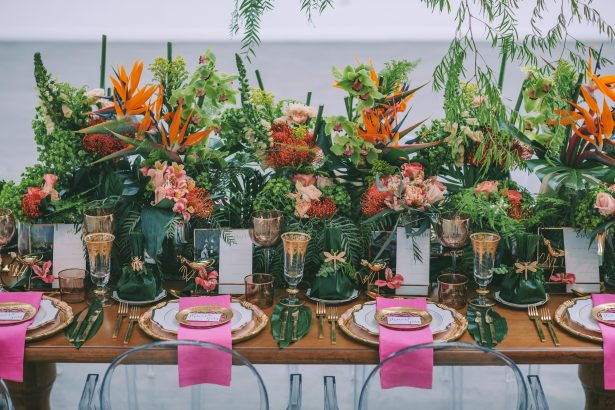 Stylish Tropical Wedding Inspiration for the Modern Bride