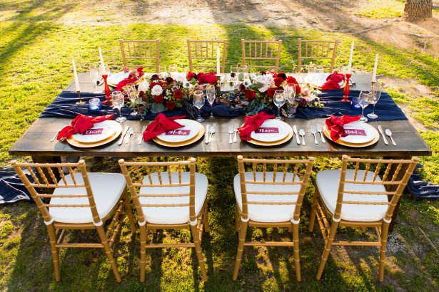 All-American Wedding Inspiration with Boho Touches