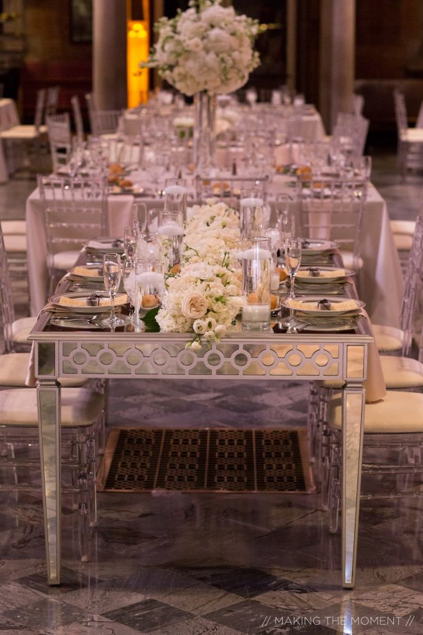 Luxury wedding tablescape - Photography: Making the Moment