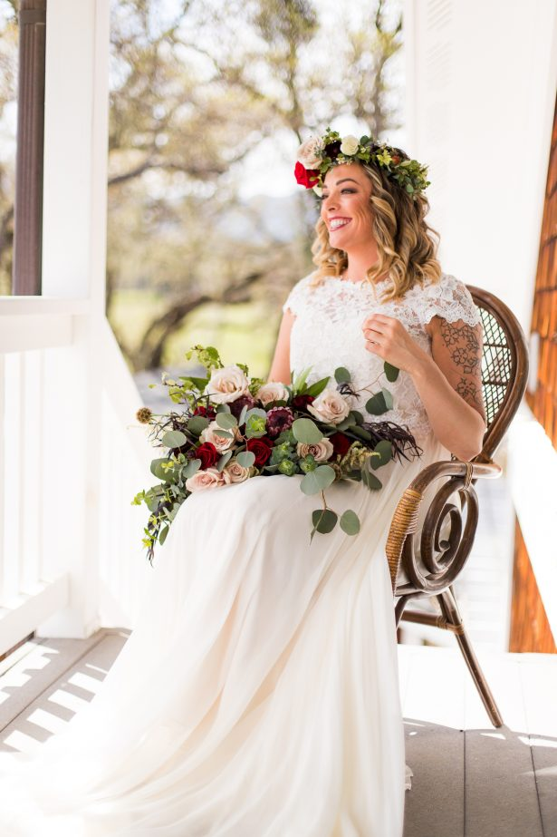 Boho Bride - Holley Elizabeth Photography