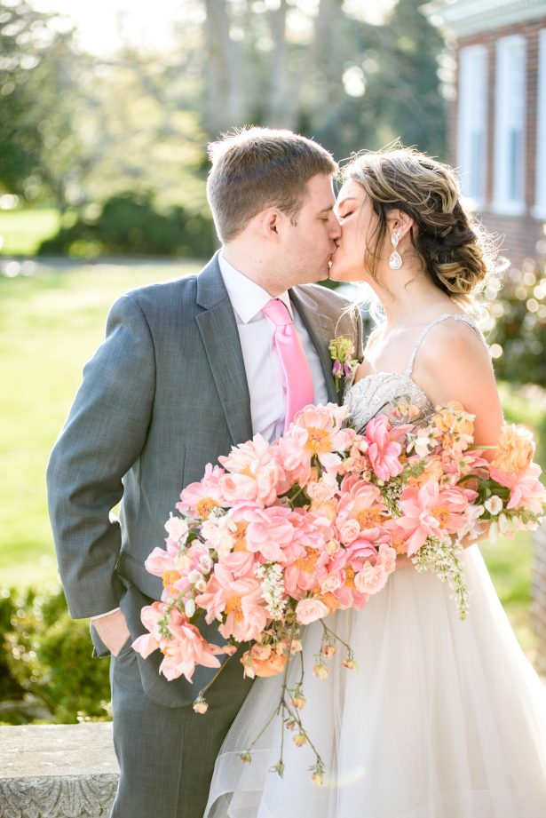 Romantic spring wedding photo- Photography: Michelle Lynn Weddings