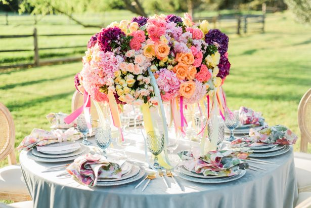 Bright and Colorful Wedding Inspiration