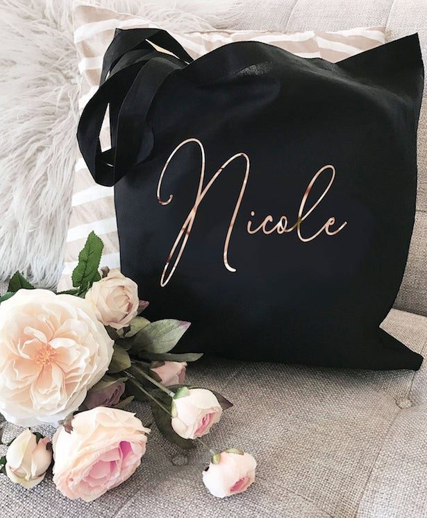 Personalized Tote - Fabulous Bridesmaid Gift Ideas Your Besties Will Love