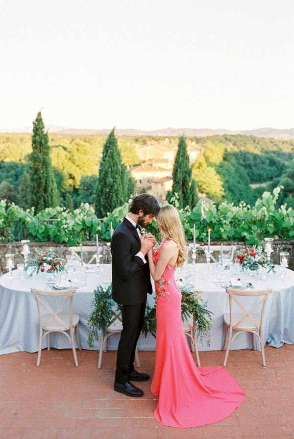 Luxury Tuscan Wedding Inspiration - Photography: The cablookfotolab