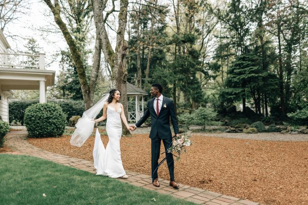 Romantic Garden Wedding Inspiration in Portland - Amanda Meg Photography