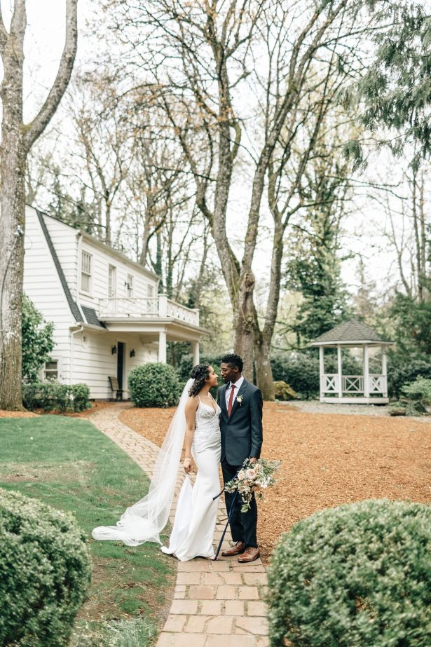 Romantic wedding photo - Amanda Meg Photography