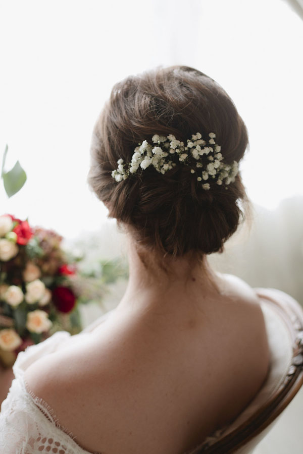Bridal updo - Purewhite Photography