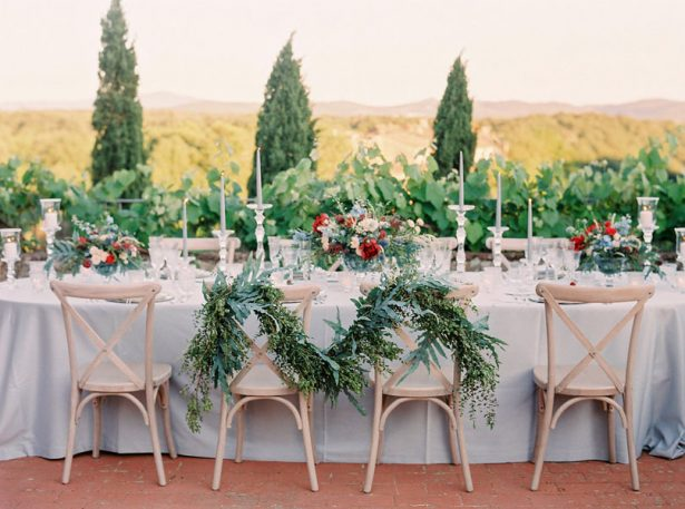 Luxury Tuscan Wedding Inspiration