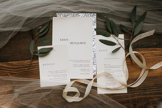 Wedding Invitations - Amanda Meg Photography