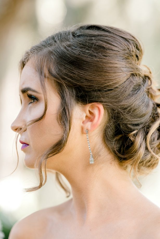 Bridal hair and makeup - Photography: Hi Volt Studios