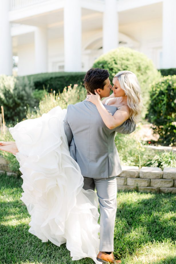 Romantic wedding photo - Krystle Akin Photography