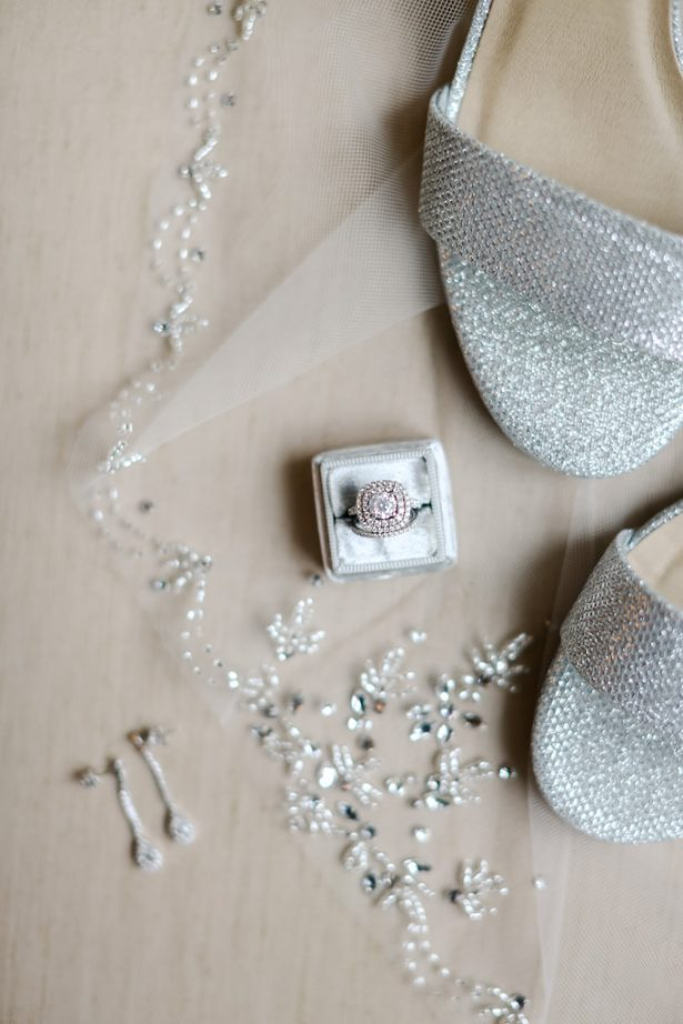 Silver bridal accessories - Krystle Akin Photography