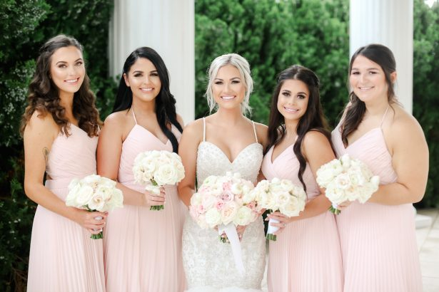 Blush Hues and Romantic Details for this Glamorous Southern Wedding