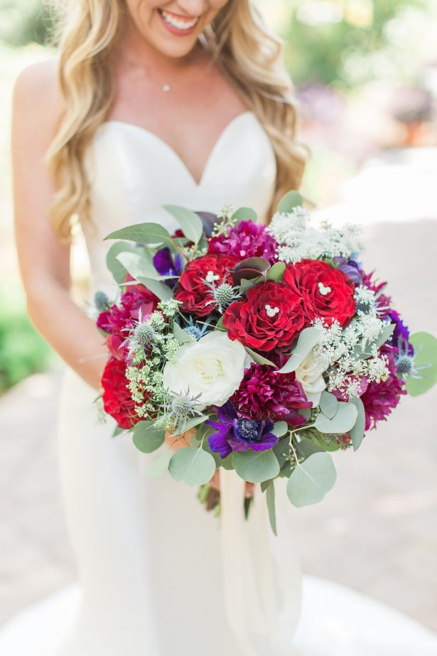 Colorful Wedding Bouquet - Photography: The Hendricks