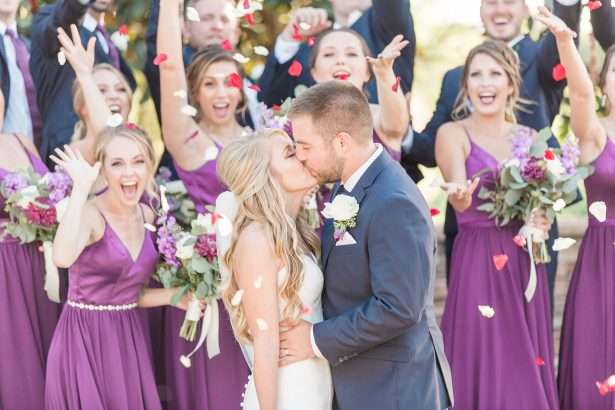 Jewel-Toned Elegant Florida Wedding